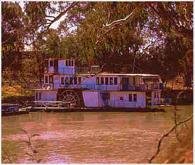Murray River Boat on the Mighty Murray River - Australia
